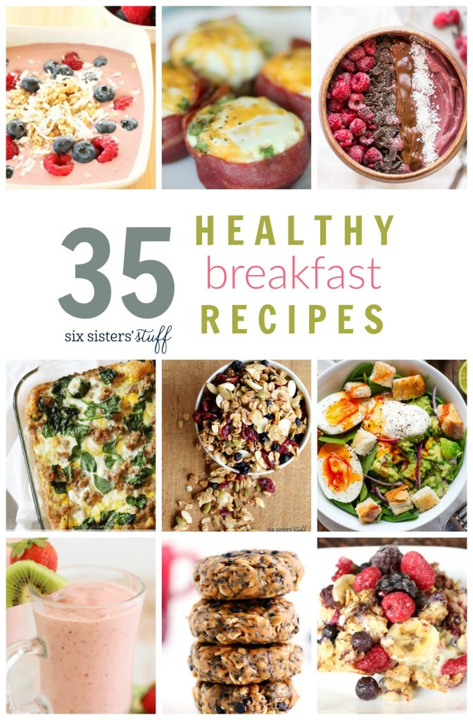 6 Healthy Breakfast Ideas