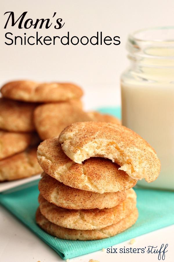 Mom's Snickerdoodles Recipe
