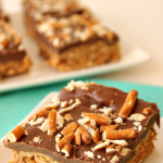 No-Bake Buckeye Bars