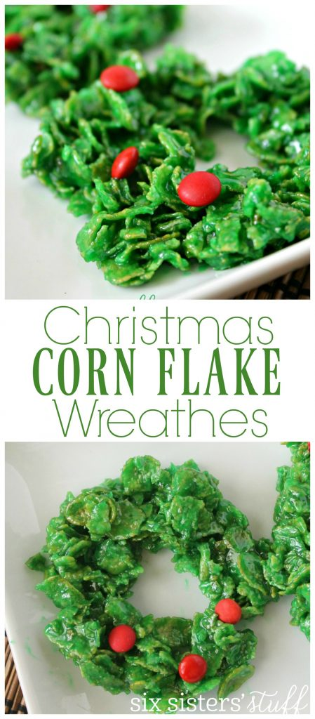 corn flake wreathes 7