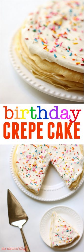Birthday Crepe Cake Recipe