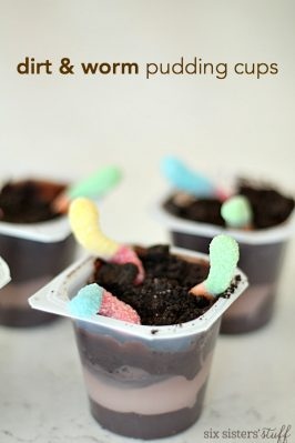 Dirt and Worm Pudding Cups