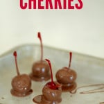 Easy Chocolate Covered Cherries on SixSistersStuff