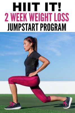 HIIT It! 2 Week Weight Loss Jump Start Program