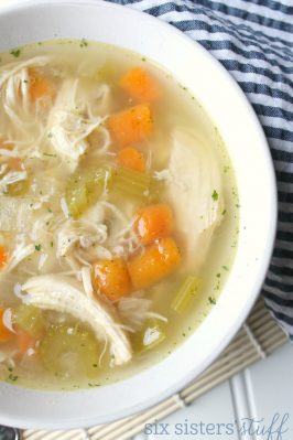 Instant Pot Healthy Chicken Vegetable Soup