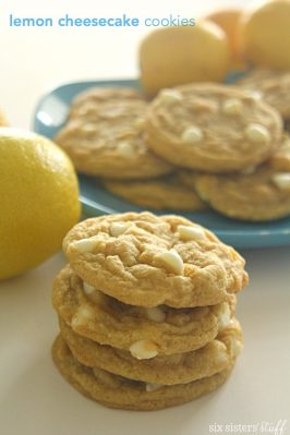 Lemon Cheesecake Pudding Cookies
