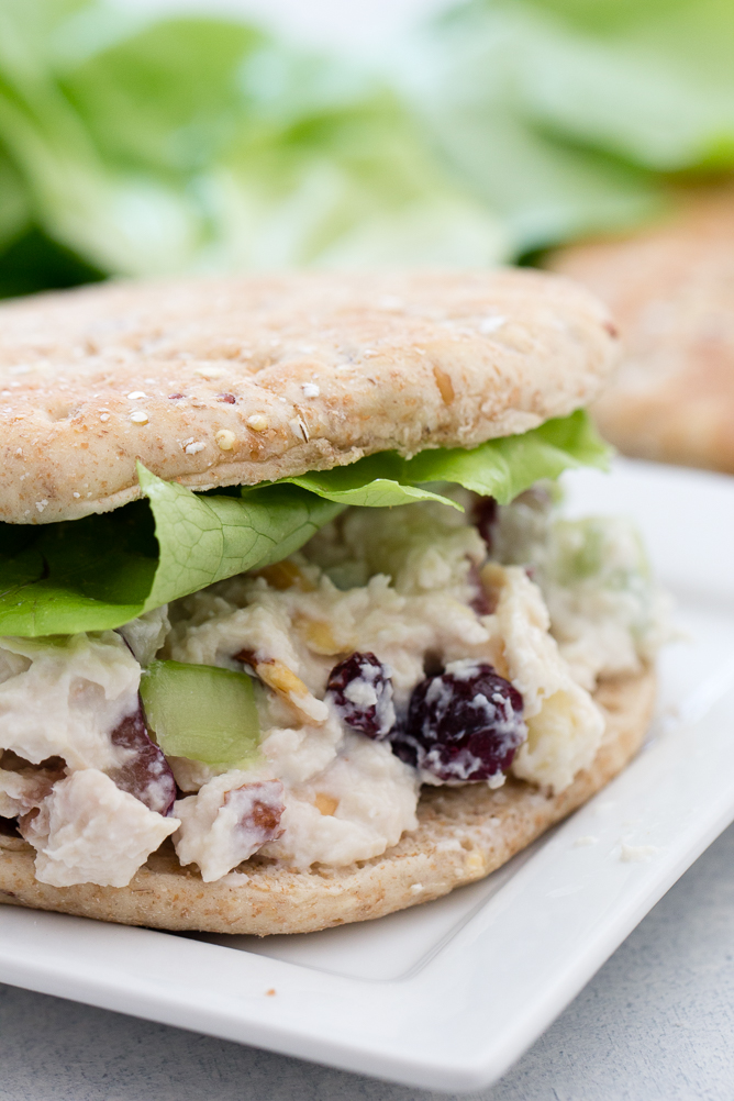 Skinny Chicken Salad Sandwiches