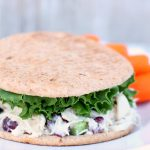 Skinny Chicken Salad Sandwiches from SixSistersStuff.com