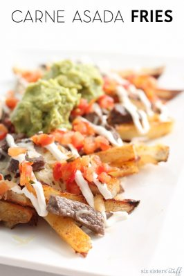 Baked Carne Asada Fries