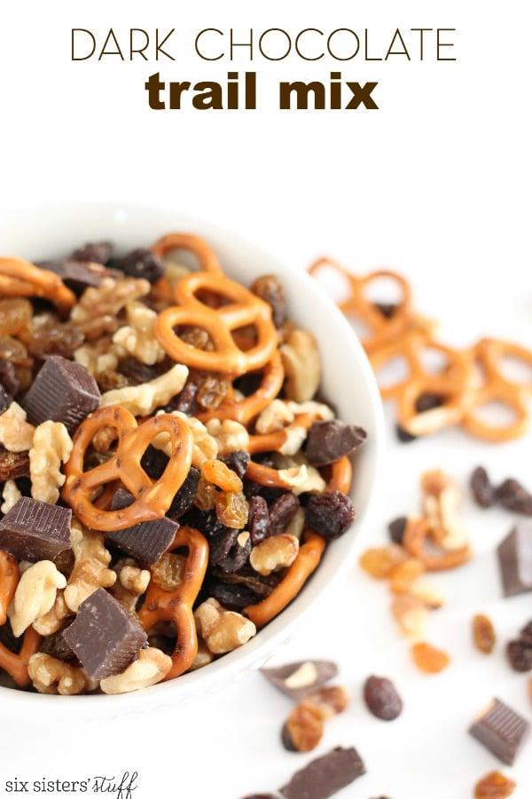 Dark Chocolate Trail Mix Recipe