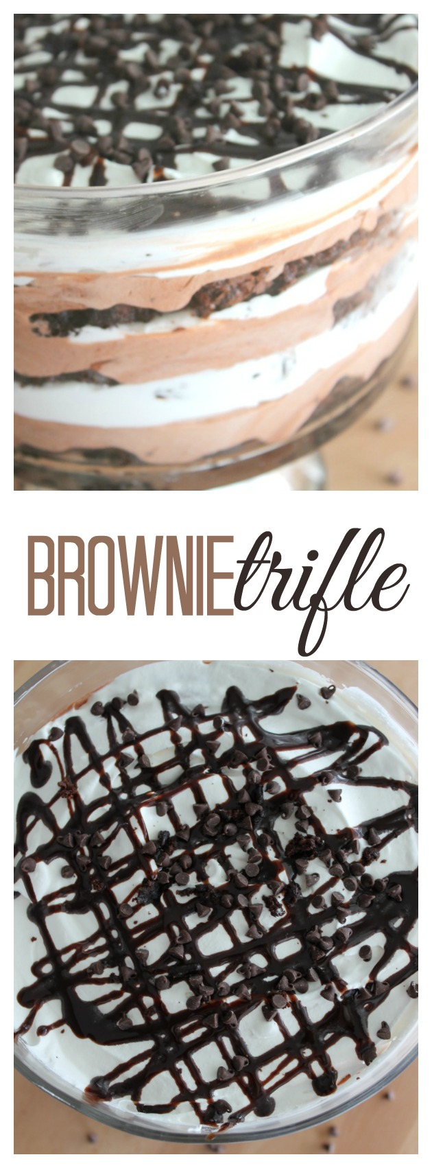 Brownie Trifle pin