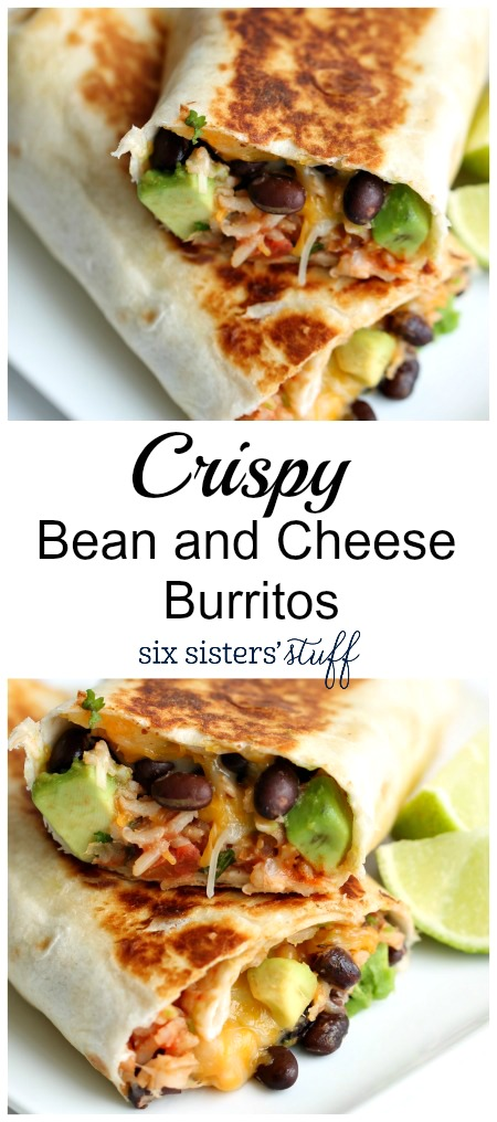 Crispy Bean and cheese Burritos 2