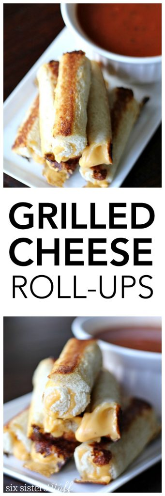 Grilled Cheese Roll-Ups from SixSistersStuff