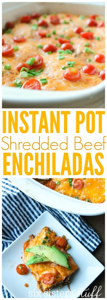 Instant Pot Beef Enchiladas 2