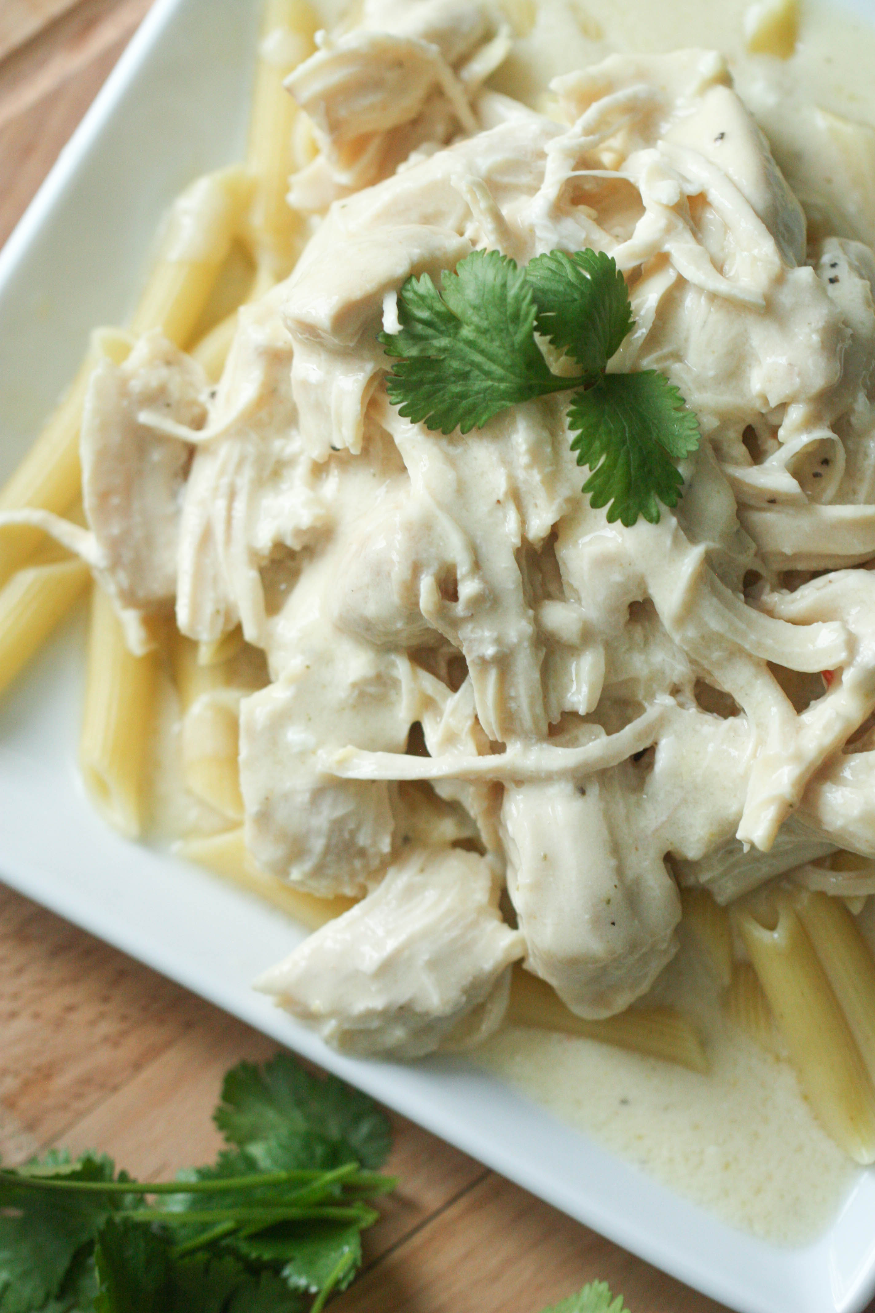 Instant Pot Cream Cheese Chicken Pasta Recipe