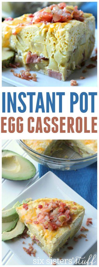 Instant Pot Egg Casserole 5