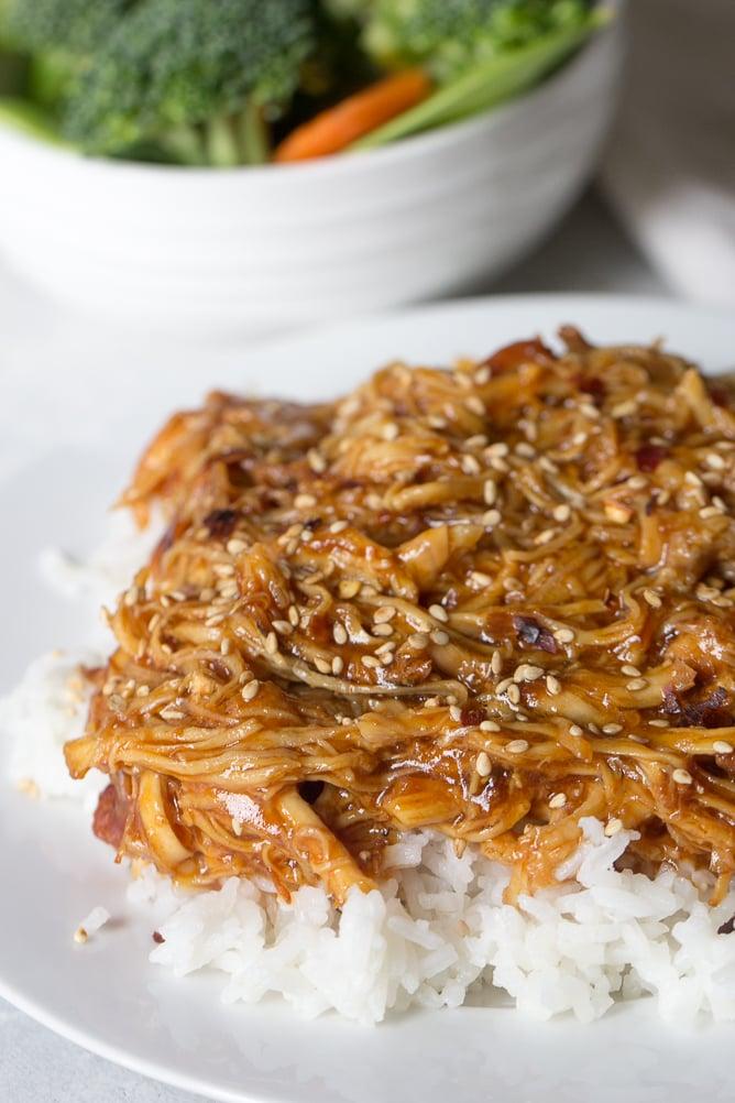 Instant Pot Honey Sesame Chicken Recipe