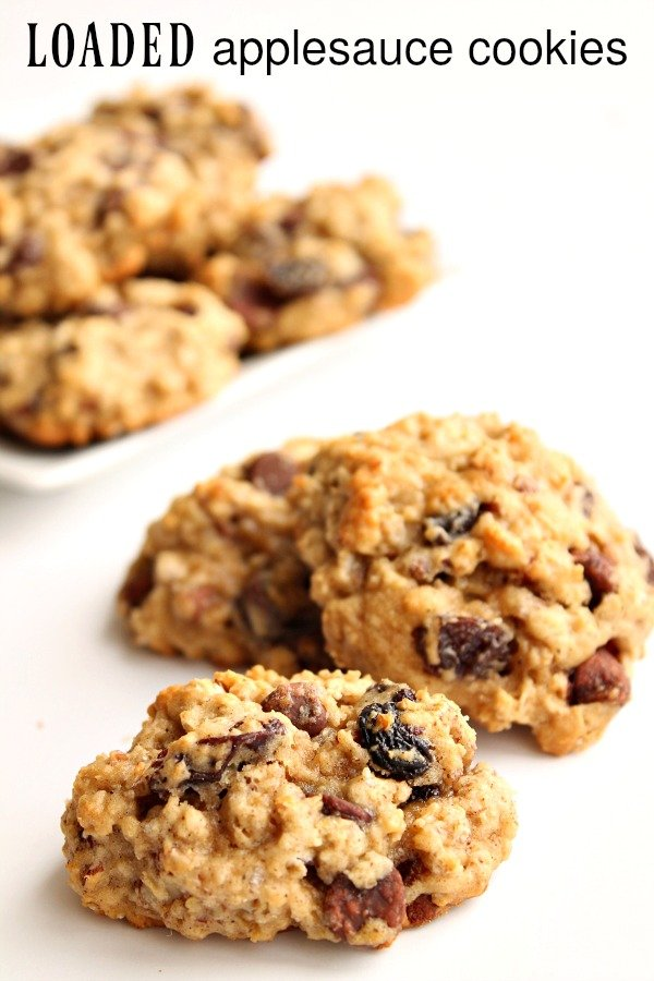Loaded Applesauce Cookies Recipe