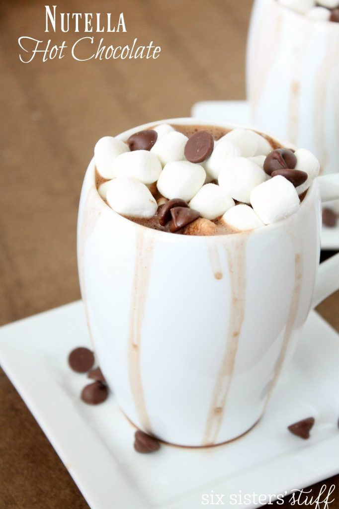 Nutella Hot Chocolate 2