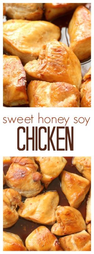 Sweet honey soy chicken pin