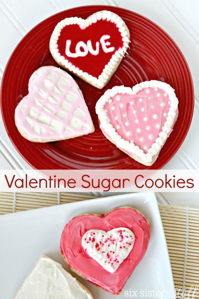 Valentine Sugar Cookies 5