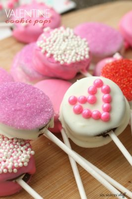 valentine cookie pops from six sisters stuff