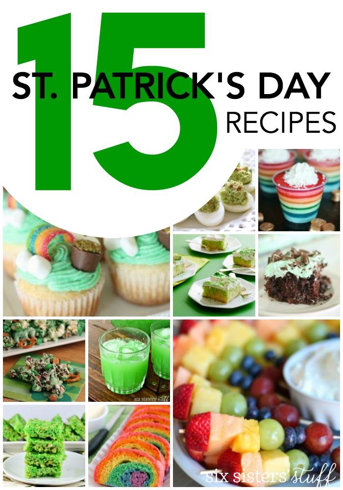 15 St. Patrick's Day Recipes