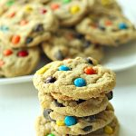 Chewy M and M Cookies
