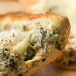 French Bread and Spinach Dip