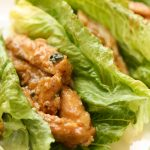Honey Lime Chicken Lettuce Wraps