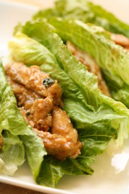 Healthy Meals Monday: Chicken Lime Lettuce Wrap