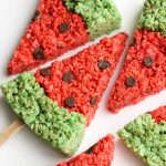 Watermelon Rice Krispie Treats 3