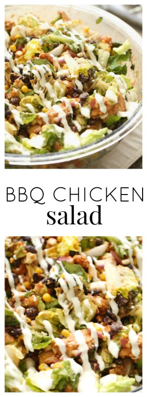 BBQ Chicken Salad pinterest