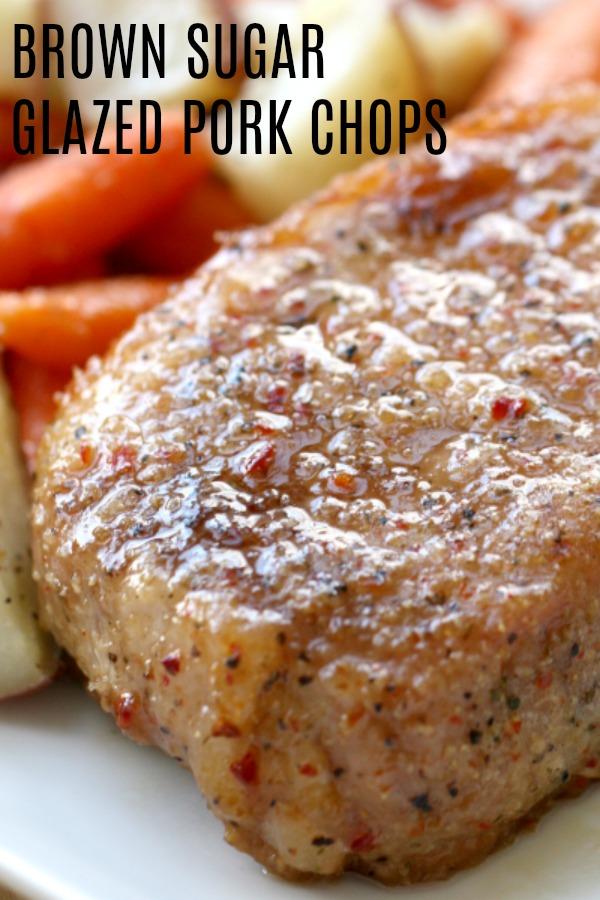 Brown Sugar Glazed Pork Chops Recipe