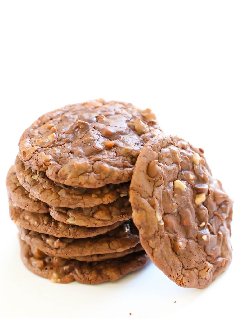 Chewy Chocolate Toffee Cookies 2