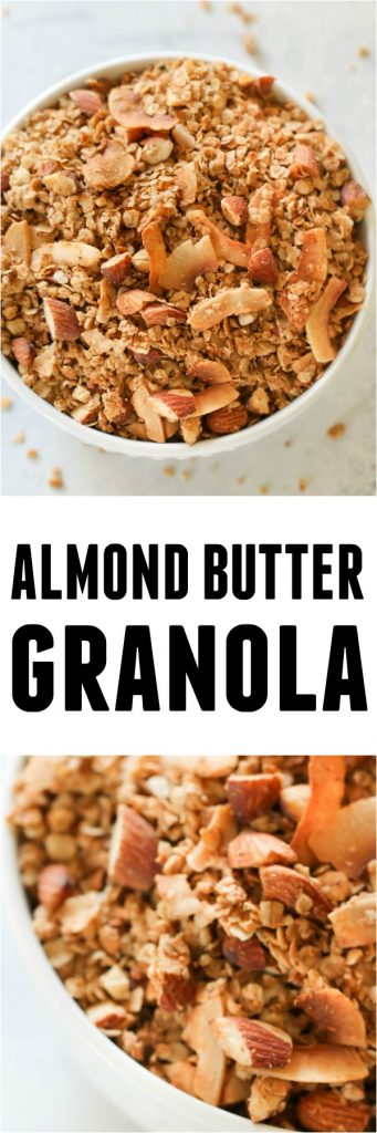 Almond Butter Granola Pin