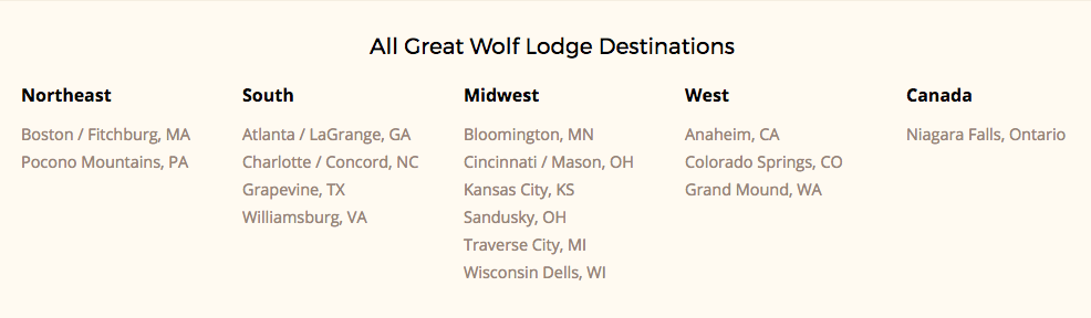 Great Wolf Lodge: The Perfect Family Getaway | Six Sisters