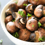 Slow Cooker Mushrooms 1