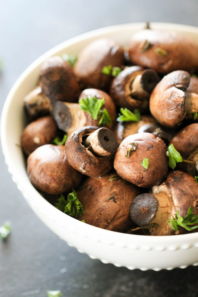 Slow Cooker Mushrooms 1