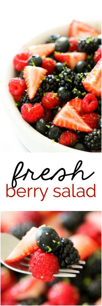 fresh berry salad six sisters stuff
