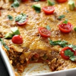 Spanish Rice Bake on SixSistersStuff