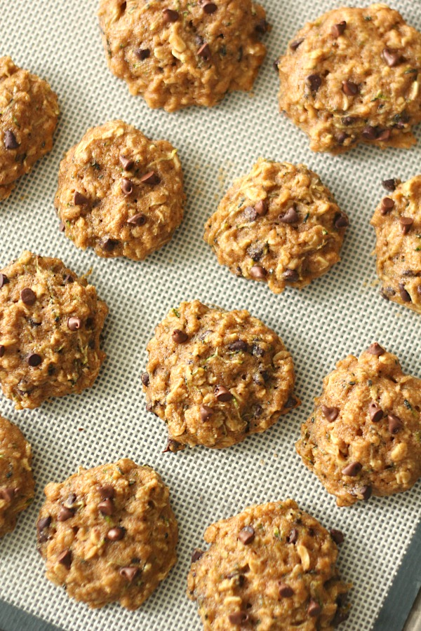 The Best Healthier Zucchini Oatmeal Cookies Recipe