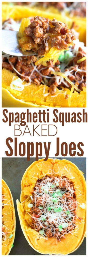 spaghetti squash sloppy joe