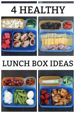 4 Healthy School Lunch Box Ideas
