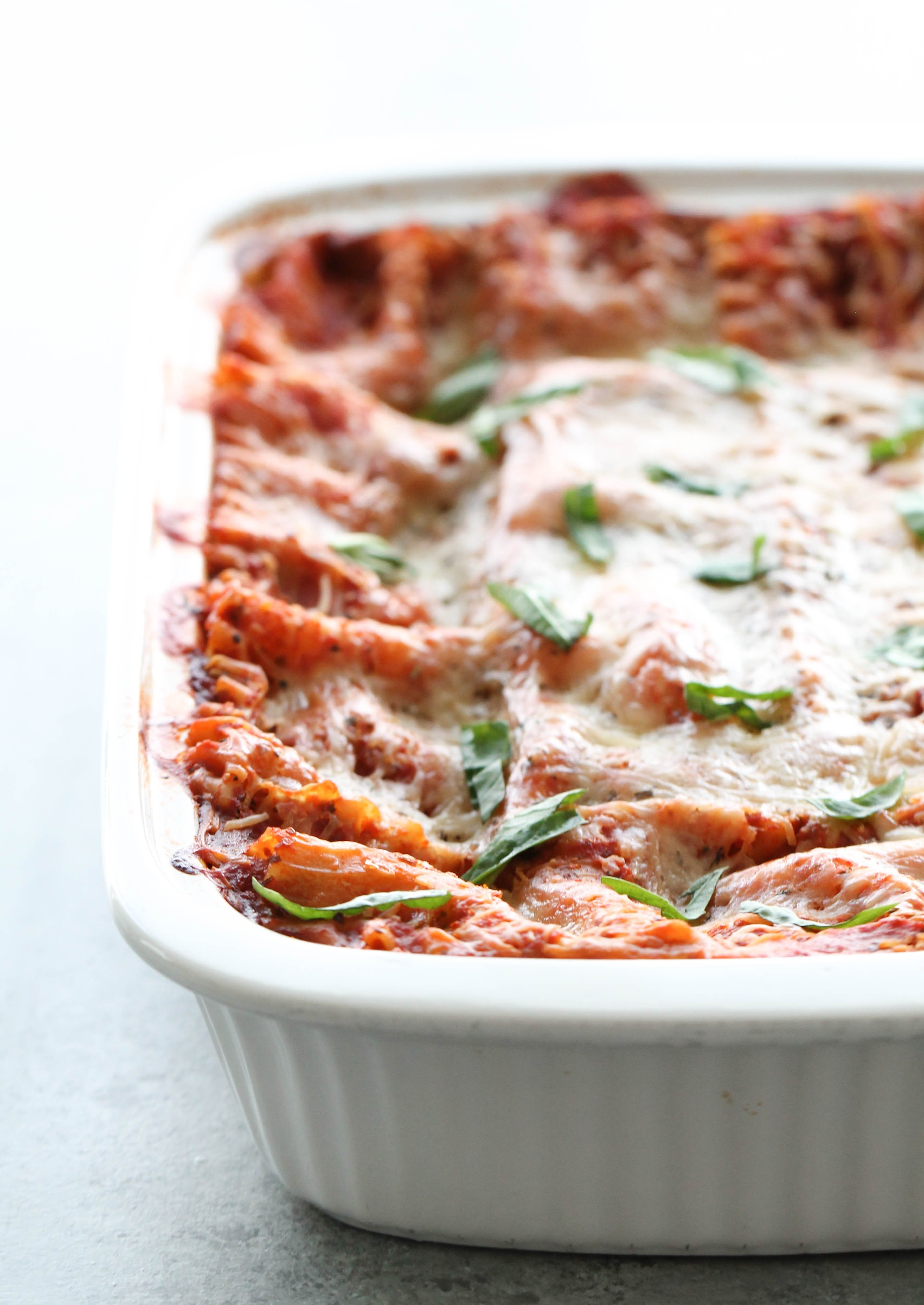 Favorite Spinach and Cheese Lasagna Recipe