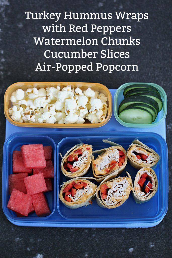 Lunch 1 - Turkey Hummus Wraps