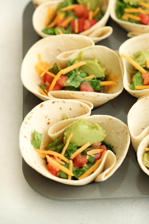20 Minute Taco Cups Recipe