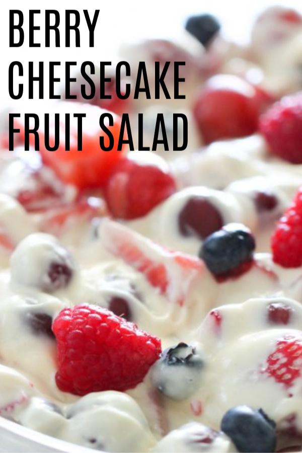 Berry Cheesecake Fruit Salad Recipe