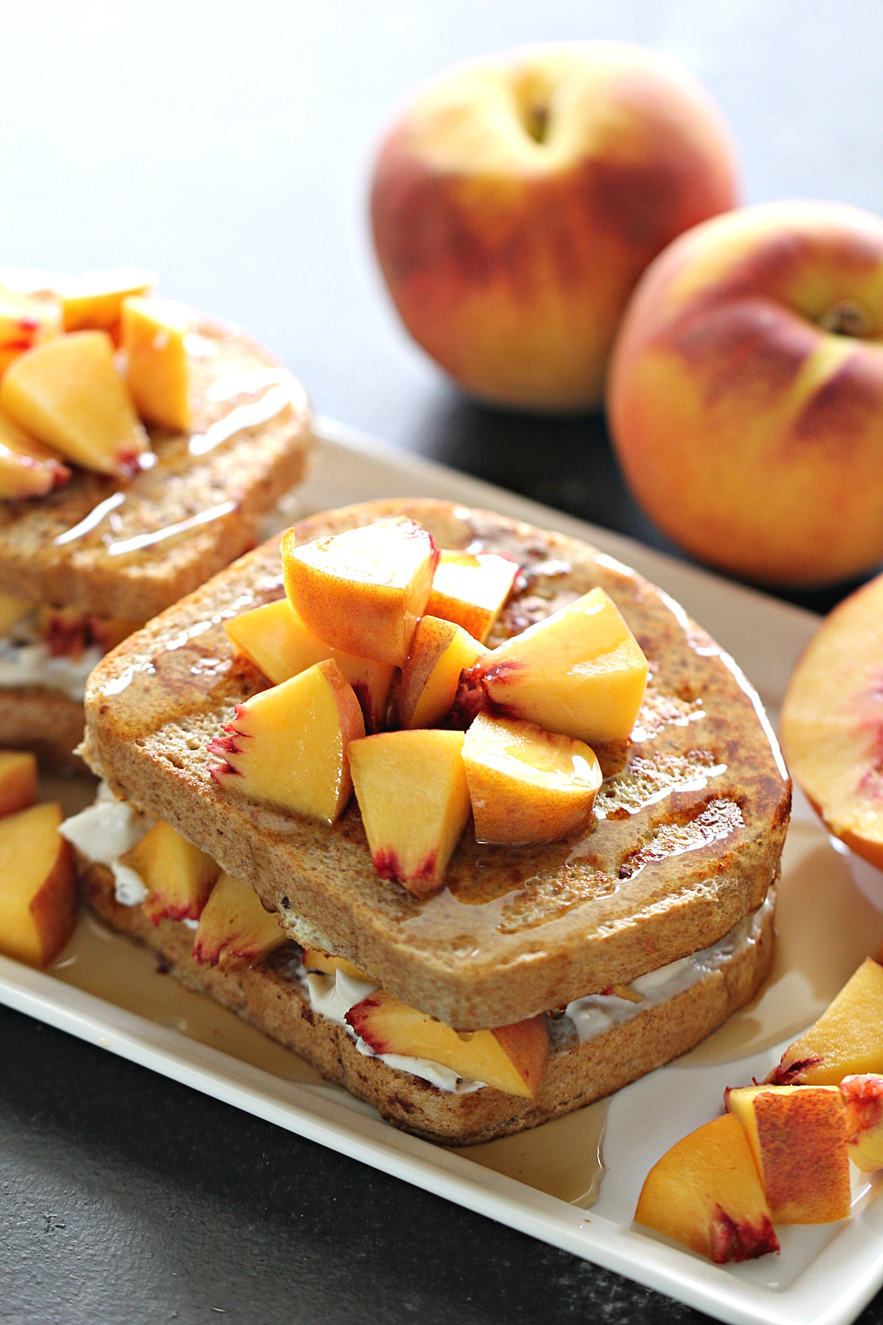 Peaches and Cream French Toast Recipe
