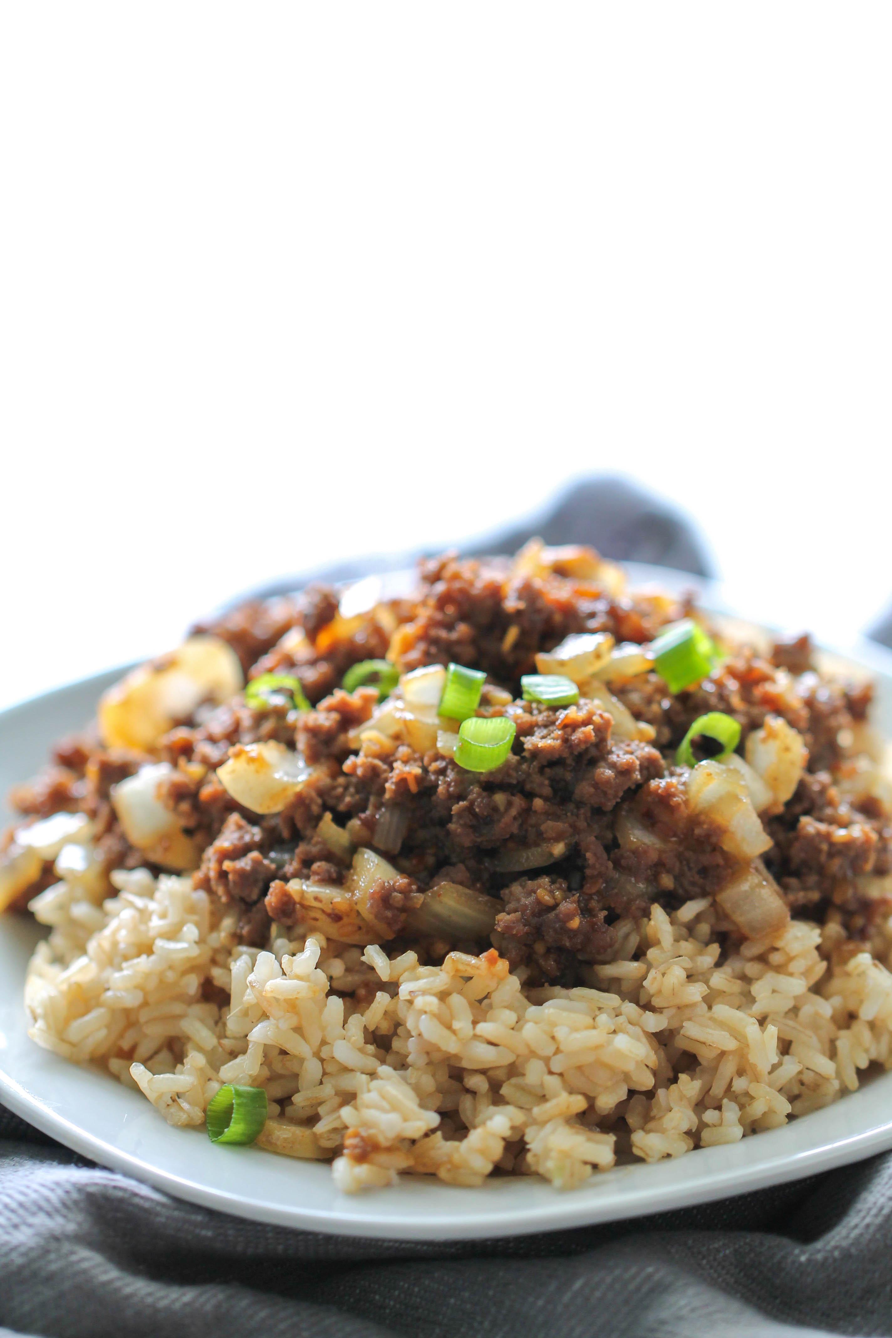 Teriyaki Beef Skillet Recipe